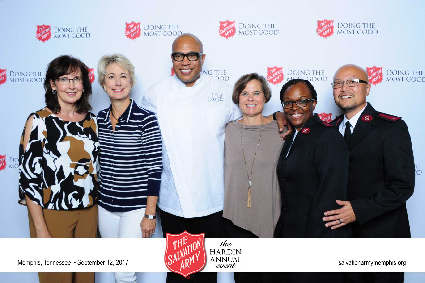 Chef Jeff Henderson at Salvation Army Annual Hardin Event