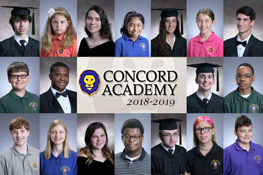 Concord Academy School Pictures 2018-2019